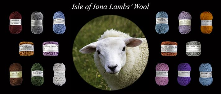 isle of iona's lamb wool banner